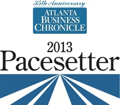 Atlanta Business Chronicle 2013 Pacesetter