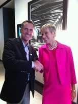 Kevin Palmer and Barbara Corcoran
