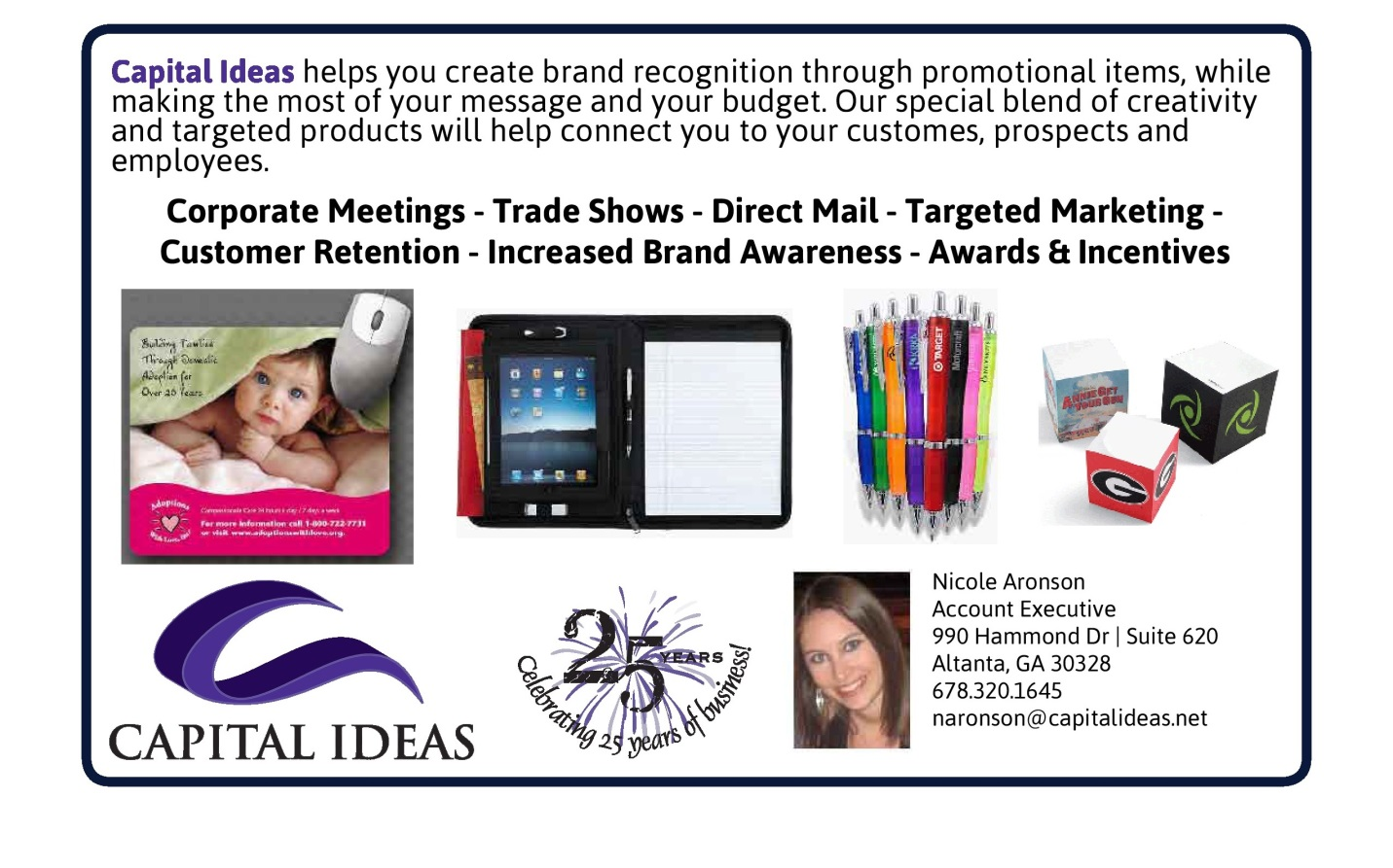 Capital Ideas - Promotional & Marketing Items